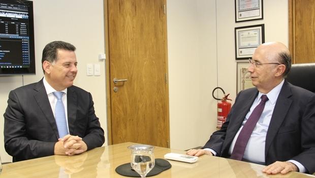 Marconi se reuniu com ministro da Fazenda nesta quarta-feira (9) | Foto: Humberto Silva