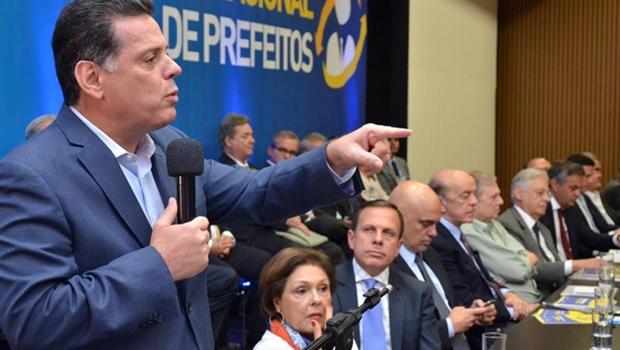 Marconi aconselha novos prefeitos em encontro nacional