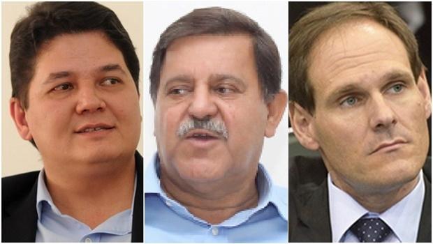 Heuler Cruvinel, Juraci, Lissauer Vieira