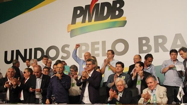 Convenção nacional do PMDB em março de 2016 | Foto: Divulgação