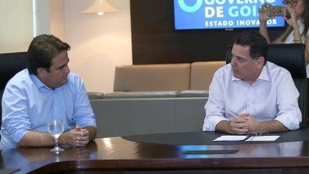 Roberto do Órion e Marconi Perillo falam sobre obras do Estado em Anápolis | Foto: Divulgação