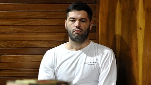 """Serial killer afirmou que matou """"por amizade"""" a ex-mulher de Denilson   Foto: Agnaldo Teixeira"""