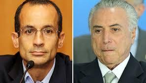 Marcelo Odebrecht e Michel Temer: abraçados até o fim?