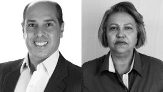 Dr. Davi e Pastora Cida, candidatos da chapa eleita em Pontalina   Foto: Reprodução