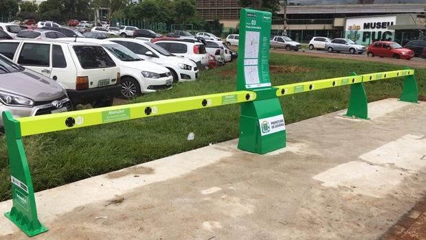 Prefeitura começa a instalar estações de bicicletas públicas em Goiânia