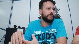 Recém-chegado à Polícia Civil, o agente Juliano Telles duvidou no início das investigações que existisse um serial killer em Goiânia | Foto: Fernando Leite / Jornal Opção