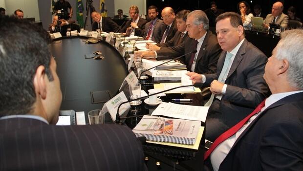 Em reunião do Condel, Marconi defende mais recursos para o Centro-Oeste