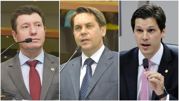 Iris Rezende troca três principais líderes do PMDB pelo senador Ronaldo Caiado