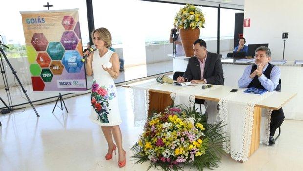 Raquel Teixeira fez balanço da gestão à frente da Seduce em 2016 | Foto: Solimar