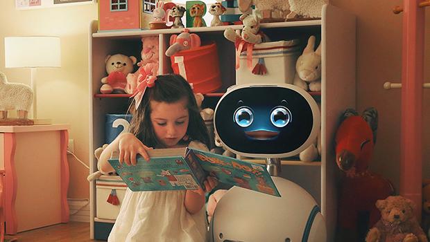 O melhor amigo do meu filho é um robô