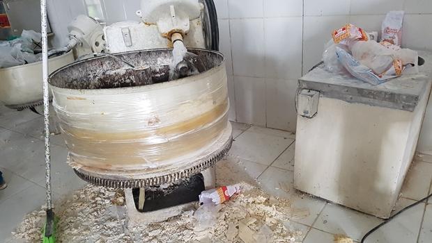 Vigilância Sanitária interdita fábrica de massas que funcionava sem licença em Aparecida