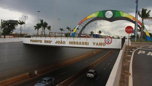 Governo inaugura viaduto e duplicação de trecho urbano de Goiânia da GO-080