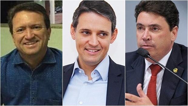 Thiago Peixoto, Evandro Magal e Wilder Morais: um deles pode ser vice de José Eliton