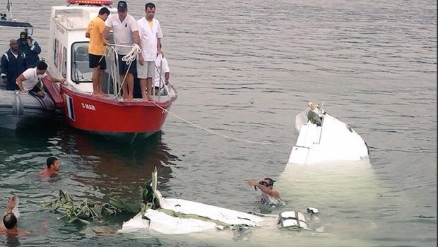 Resultado de imagem para queda do avião do ministro