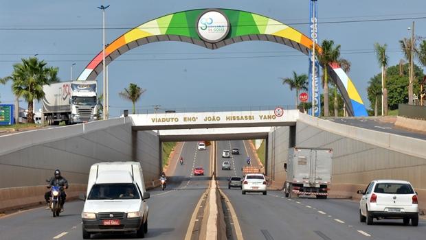 Governo de Goiás inaugura viaduto da GO-080 em janeiro