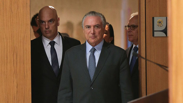 Temer anuncia indicação de Alexandre de Moraes para STF