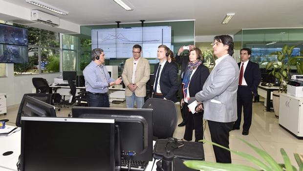 Em Goiás, comitiva do Ministério da Saúde da Dinamarca elogia Conecta SUS