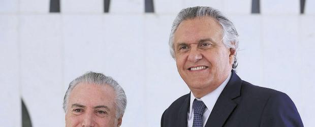 Governo Temer tolera mas vai deixar de atender o senador Ronaldo Caiado