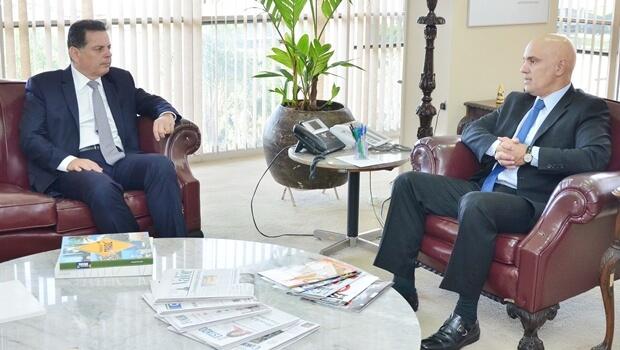 Marconi pede apoio da Força Nacional para reforçar combate à violência em Luziânia