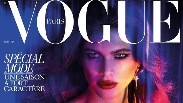 Mulher cearense é a primeira transexual a estampar capa da Vogue Paris