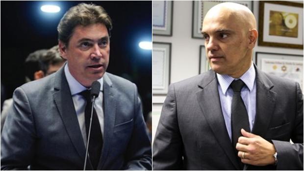 """Alexandre de Moraes confirma """"sabatina informal"""" em barco de Wilder Morais"""