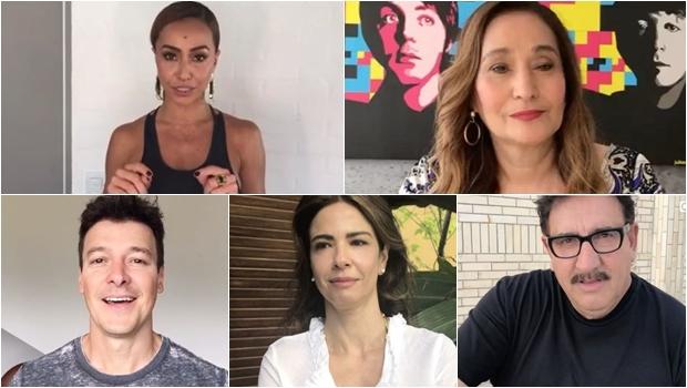 Famosos da Record, SBT e RedeTV! fazem campanha contra corte na TV paga