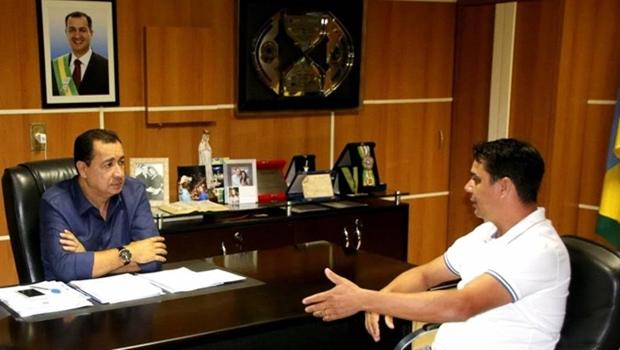 Vereador Walteir visita prefeito de Águas Lindas