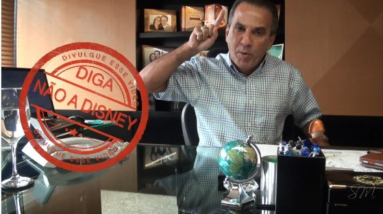 Pastor Silas Malafaia propõe boicote a Disney e vira piada nas redes