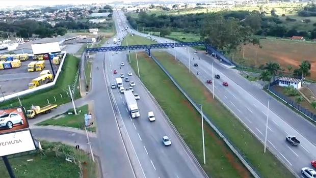 Idoso é atropelado por viatura na BR-153 em Goiás