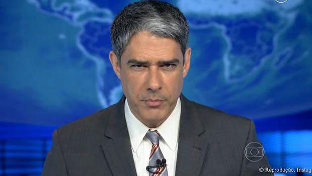 """Globo repudia """"campanha de intimidação"""" contra Willian Bonner e família"""