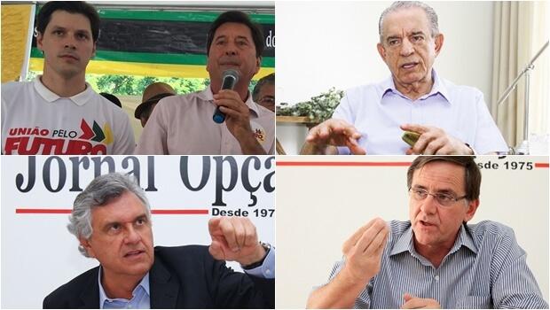 Iris Rezende prefere que os Vilelas se unam a Ronaldo Caiado e não a Antônio Gomide