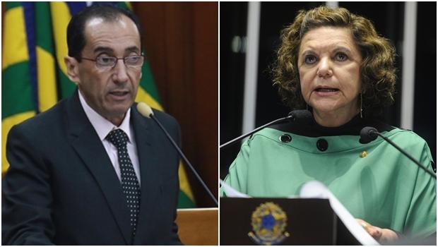 Lúcia Vânia e Jorge Kajuru podem ser candidatos ao Senado na chapa de Ronaldo Caiado
