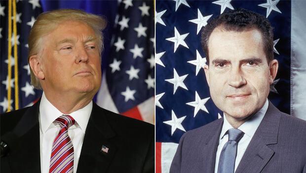 Donald Trump pode terminar seus dias de presidente como Richard Nixon