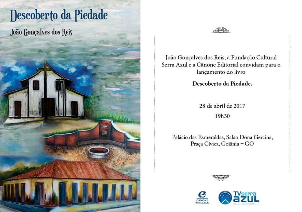 Ex-prefeito João Gonçalves lança livro sobre História de Porangatu no Palácio das Esmeraldas