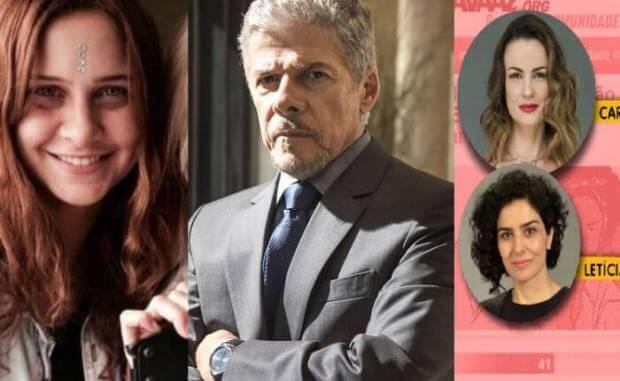 Colunista Leo Dias diz que José Mayer e Su Tonani tiveram caso. Por isso ela teria desistido de ação