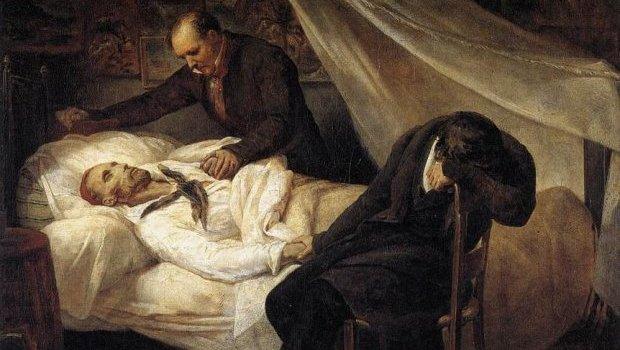 """Bolívar pediu a Deus uma morte """"rápida"""" e """"indolor"""". Morreu logo depois de pronunciar tais palavras"""