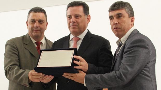 Marconi é homenageado com o título de cidadão de Tiradentes