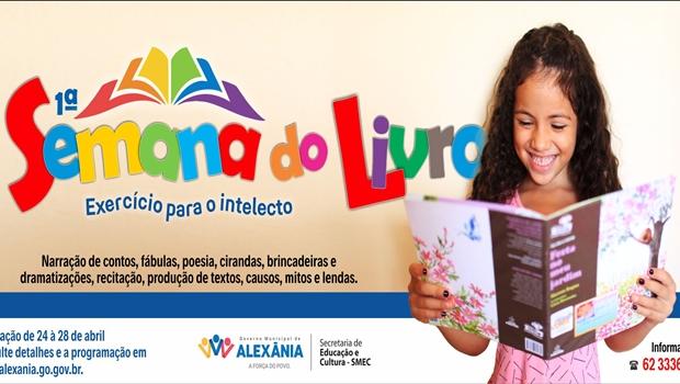 Alexânia promove 1ª Semana do Livro