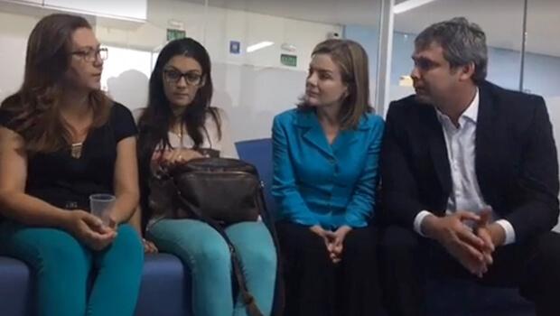 Em Goiânia, senadores petistas prestam solidariedade ao jovem agredido pela PM
