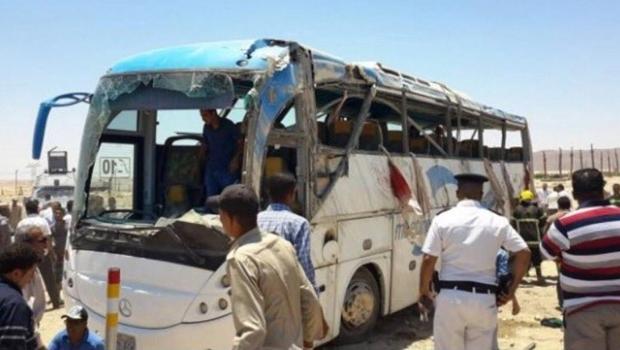 Ataque contra ônibus de cristãos no Egito deixa pelo menos 23 mortos