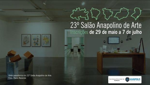23º Salão Anapolino de Arte recebe inscrições até 7 de julho