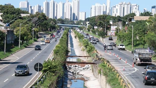 Prefeitura de Goiânia pode interditar Marginal Botafogo por um mês
