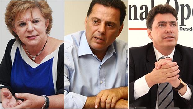 Marconi e Lúcia Vânia podem disputar vaga no Senado e Wilder Morais iria a suplente ou a deputado