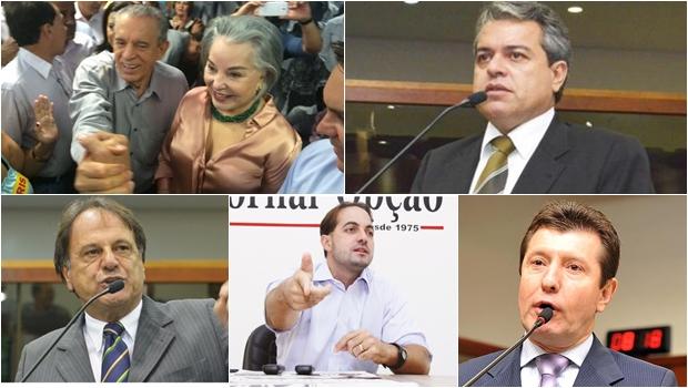 13 políticos do PMDB que não querem apoiar Daniel Vilela para governador de Goiás
