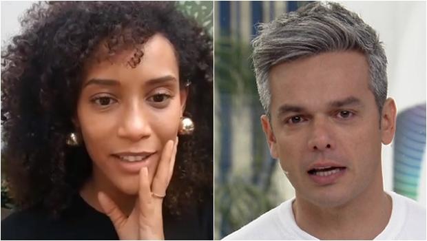 "Após polêmica, Taís Araújo defende Otaviano Costa: ""Não precisa problematizar tudo"""