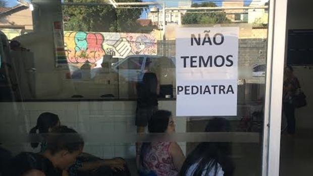 Pacientes de Goiânia sofrem com falta de pediatras nos Cais