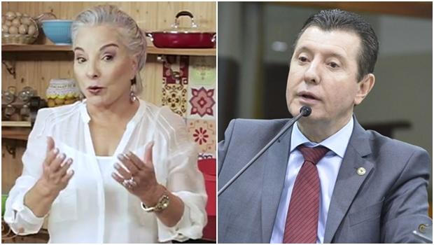 José Nelto diz que gosta de Iris Araújo mas gosta muito mais dele