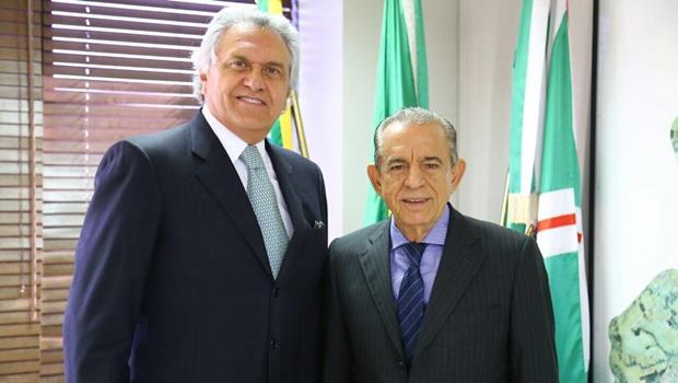 Sem aval de Iris Rezende, Caiado pode desistir da disputa do governo