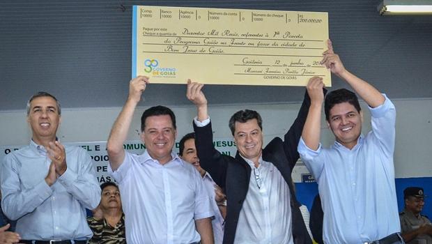 Em Bom Jesus, Marconi autoriza investimentos de R$ 2 milhões