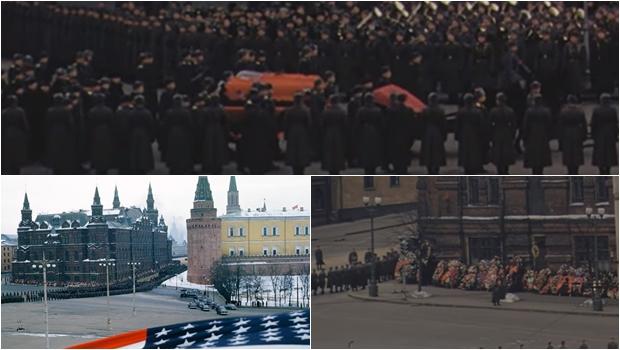Descobertas gravações do funeral de Stálin feitas por um major americano